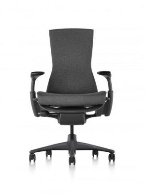 Herman Miller Embody Chair - Graphite Frame/Black Rhythm Textile