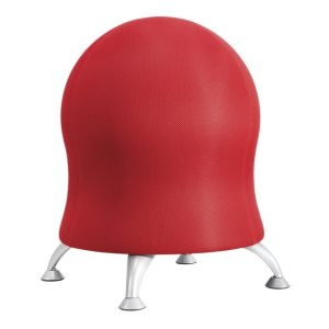Safco Products 4750CI Zenergy Ball Chair, Crimson
