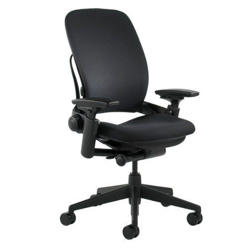 ... Best Office Chairs For Bad Backs. Steelcase Leap V2. Steelcase Leap  Fabric Chair