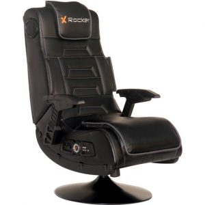 X Rocker 51396 Pro Series Pedestal 2.1 Wireless Video Gaming Chair, Black