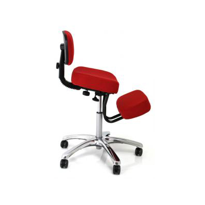 BetterPosture Jazzy Kneeling Chair – Multifunctional Red